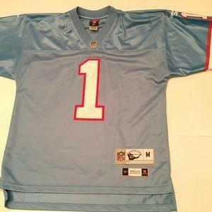 90's Reebok Houston Oilers NFL Warren Moon 1 Sz M